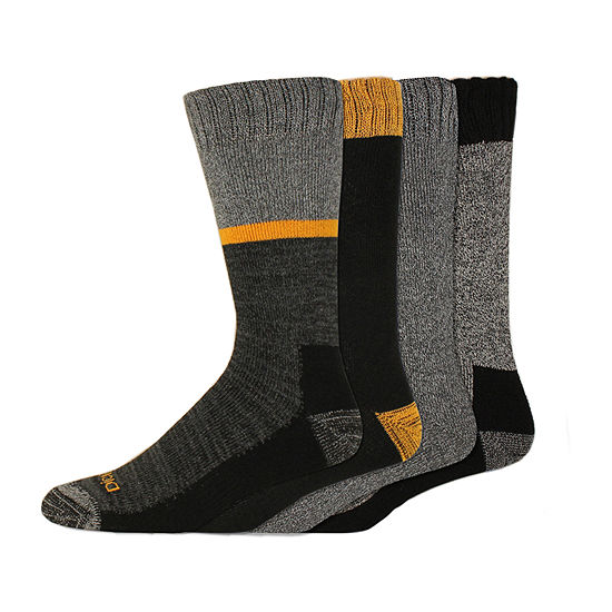 Dickies 4 Pair Crew Socks-Mens
