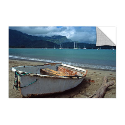 Brushstone Waiting To Row In Hanalei Bay Removable Wall Decal