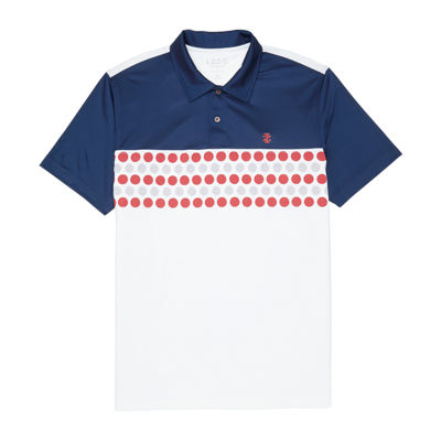 Izod Mens Short Sleeve Golf Polo
