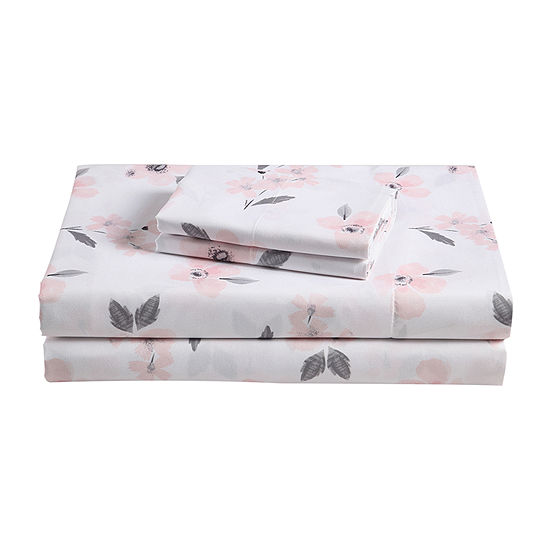 Frank And Lulu Olivia Microfiber Easy Care Sheet Set