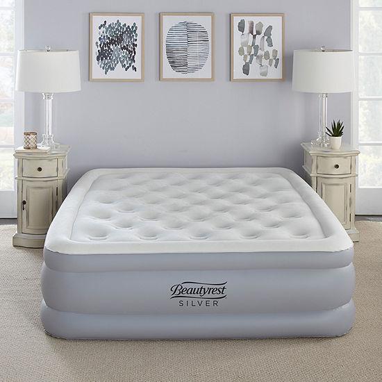 """Beautyrest Silver 18"""" Queen EverFirm Adjustable Comfort Pillowtop Raised Air Bed Mattress"""