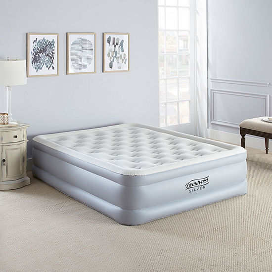 "Beautyrest Silver 18"" Queen EverFirm Adjustable Comfort Pillowtop Raised Air Bed Mattress"