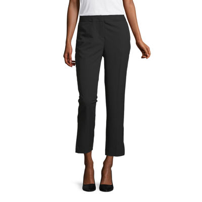 Worthington Womens Modern Fit Ankle Pant