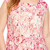 Danny & Nicole Sleeveless Floral Fit & Flare Dress-Plus