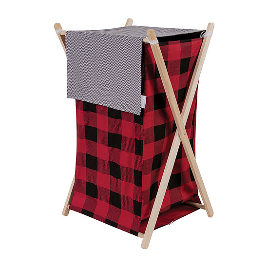 Trend Lab Buffalo Check Hamper