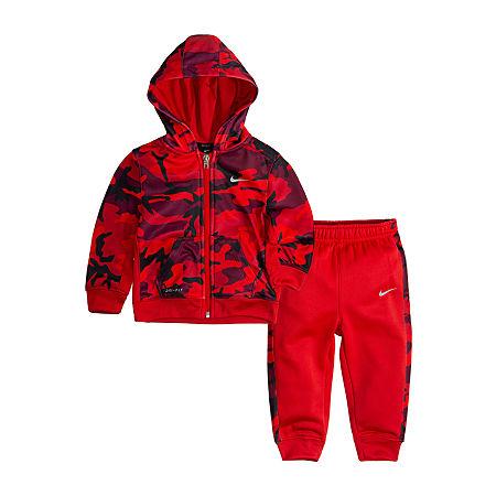 Nike Toddler Boys 2-pc. Pant Set, 2t , Red