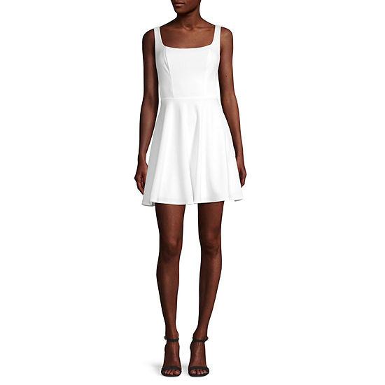 B. Smart-Juniors Sleeveless Fit & Flare Dress
