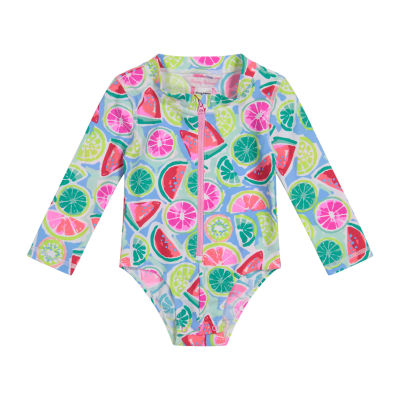 Tommy Bahama Baby Girls One Piece Swimsuit