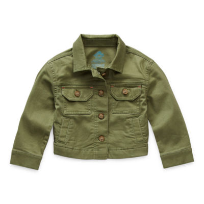 Thereabouts Toddler Girls Midweight Cropped Jacket
