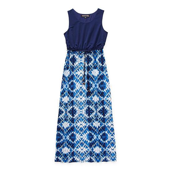 Trixxi Little & Big Girls Sleeveless Floral Maxi Dress