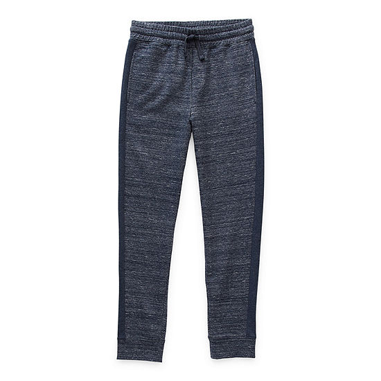 Arizona French Terry Little & Big Boys Cuffed Jogger Pant