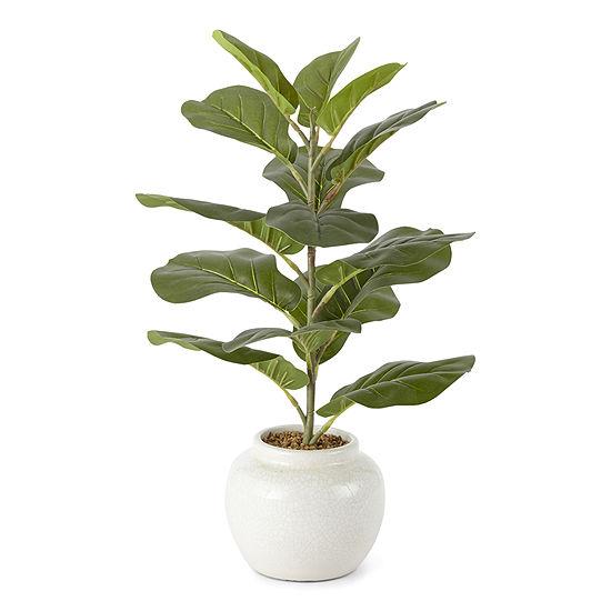 Linden Street Ceramic Fiddle Leaf Fig