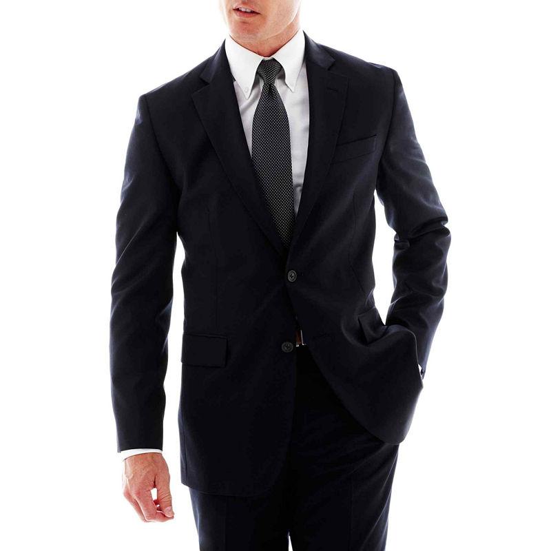 Stafford Travel Slim-Fit Suit Jacket plus size,  plus size fashion plus size appare