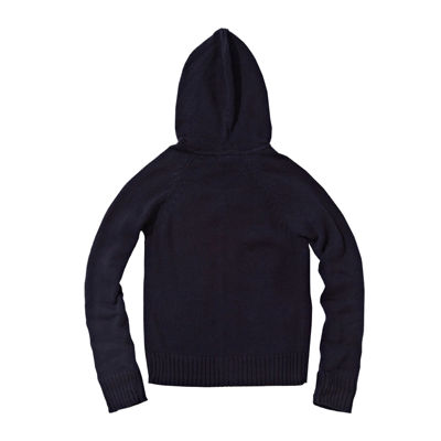 U.S. Polo Assn.® Long-Sleeve Cable Knit Hoodie - Preschool Girls 4-6x