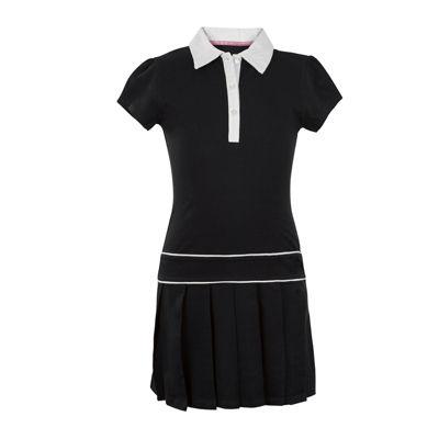 U.S. Polo Assn.® Button-Front Pleated-Bottom Dress - Preschool Girls 4-6x