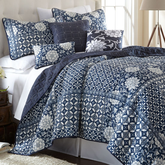 Zion 6-pc. Reversible Quilt Set