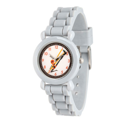 Disney The Incredibles 2 Helen Boys Gray Strap Watch-Wds000562