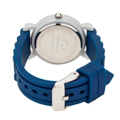 Disney The Incredibles 2 Bob Boys Blue Strap Watch-Wds000563