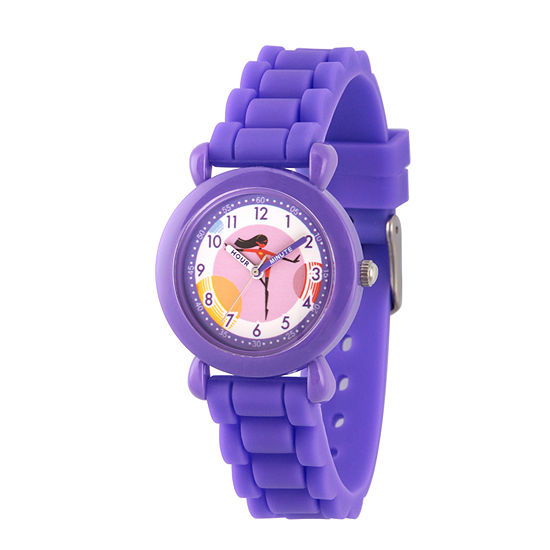 Disney The Incredibles 2 Violet The Incredibles Girls Purple Strap Watch-Wds000565