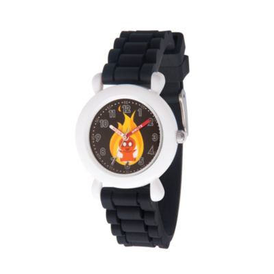 Disney The Incredibles 2 Dashiell Boys Black Strap Watch-Wds000567