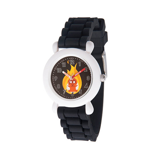 Disney The Incredibles 2 Dashiell The Incredibles Boys Black Strap Watch-Wds000567