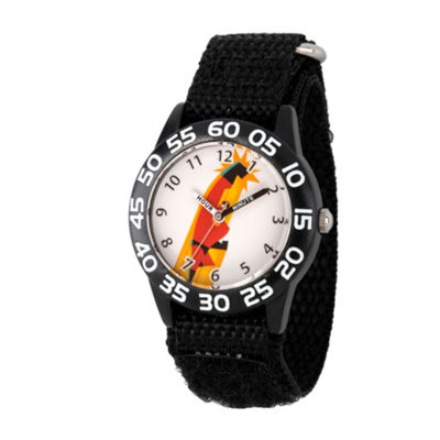 Disney The Incredibles 2 Bob Boys Black Strap Watch-Wds000568