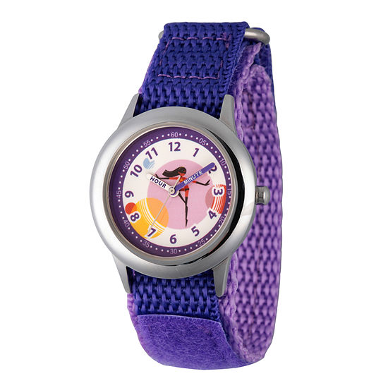 Disney The Incredibles 2 Violet The Incredibles Girls Purple Strap Watch-Wds000577