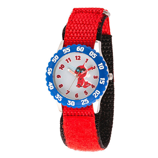 Disney The Incredibles 2 Jack-Jack The Incredibles Boys Red Strap Watch-Wds000579