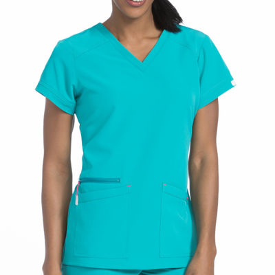 Air by Med Couture 8537 Sky High V-Neck Scrub Top