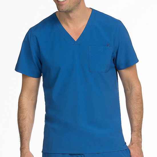 Med Couture 8530 Mens Activate Stretch V-neck Scrub Top - Big