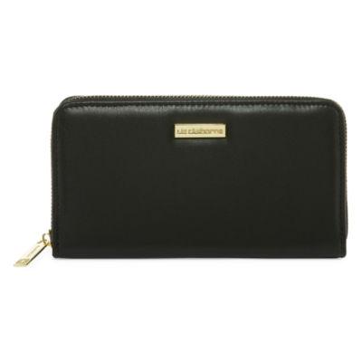Liz Claiborne Zip Around Wallet