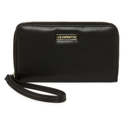 Liz Claiborne Zip Around Phone Wallet