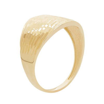Womens 19.5mm 14K Gold Band
