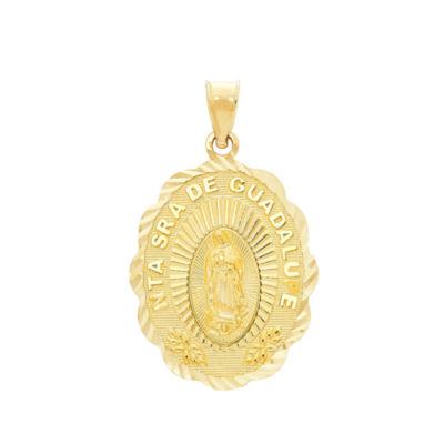 Religious Jewelry Womens 14K Gold Pendant