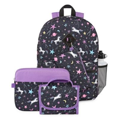 Unicorn 6 pc Backpack Set