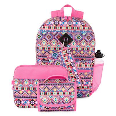 Aztec 6pc Backpack Set