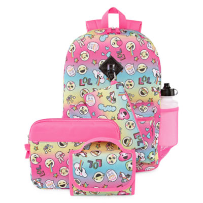 Smile Face 6pc Backpack Set