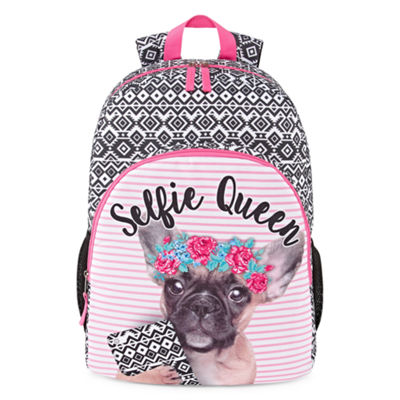Selfie Queen Dog Backpack