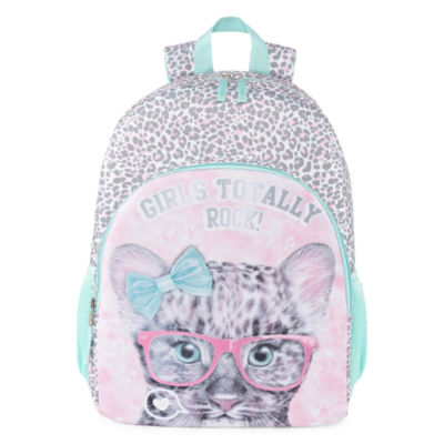 Girls Totally Rock Cat Backpack
