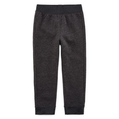 Okie Dokie Fleece Pull-On Pants-Toddler Boys 2T-5T