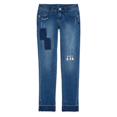 Arizona Release Hem Jean Girls 4-16 and Plus