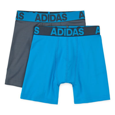 adidas 2 Pair Boxer Briefs Big Kid Boys