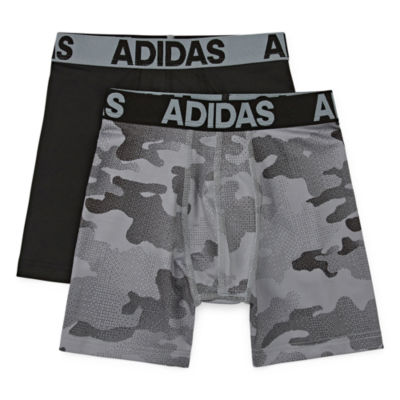 adidas 2 Pair Boxer Briefs Big Kid Boys