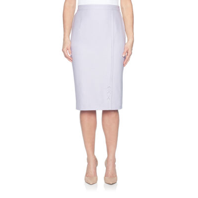 Alfred Dunner Roman Holiday Pencil Skirt-Petite