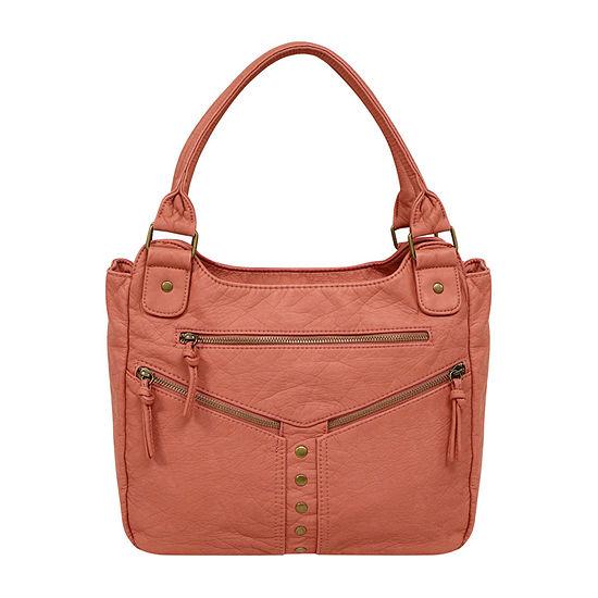 St. John's Bay Zippered Double Shoulder Bag
