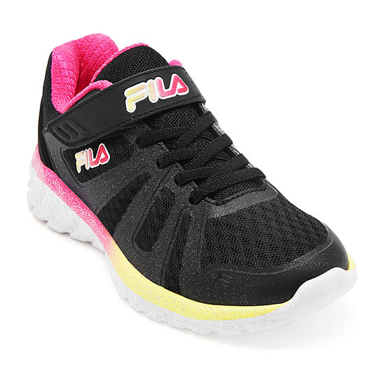 Fila Cryptonic 6 Strap Girls Running Shoes