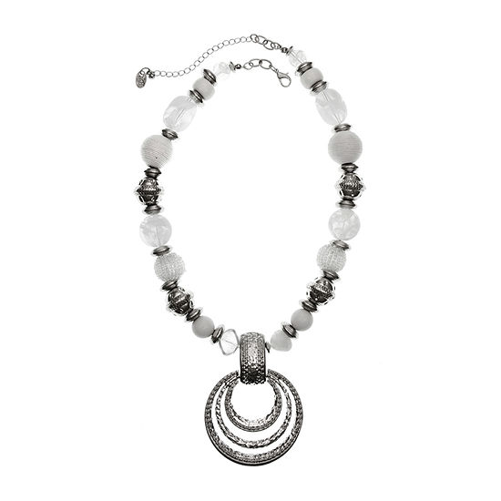 EL by Erica Lyons 20 Inch Cable Beaded Necklace