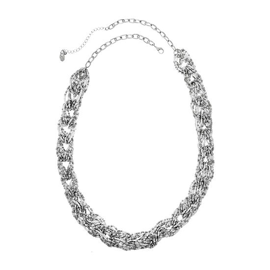 EL by Erica Lyons 36 Inch Cable Beaded Necklace