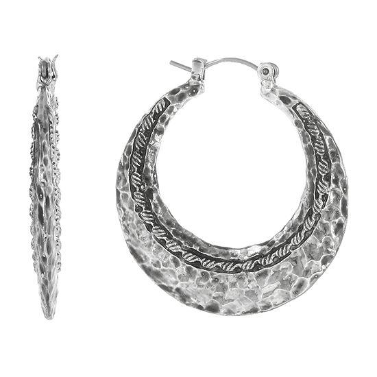 EL by Erica Lyons Hoop Earrings