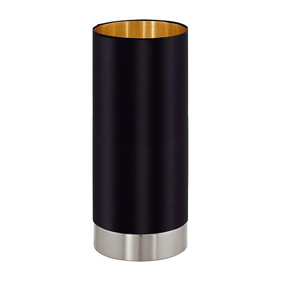 Eglo Maserlo 1-Light Matte Nickel Steel Table Lamp